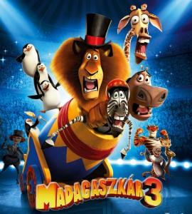 Madagaszkár 3. online mese
