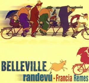 Belleville randevú online mesefilm