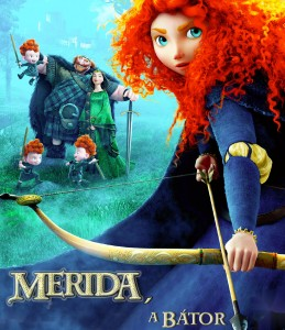 Merida, a bátor teljes mesefilm