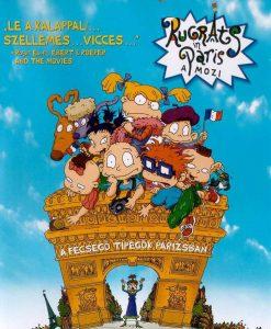 Rugrats - A fecsegő tipegők Párizsban teljes mesefilm